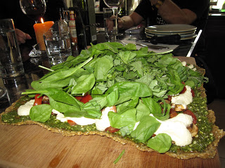 Kelly Childs' Raw Vegan Pizza