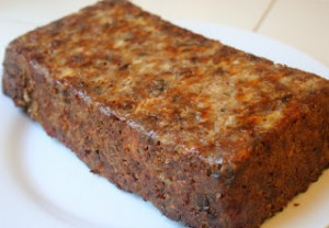 Kelly Childs' Vegan Holiday Nut Loaf