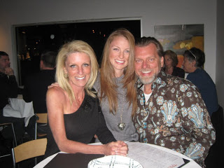 Kelly Childs, Erinn Weatherbie, and Ken Childs