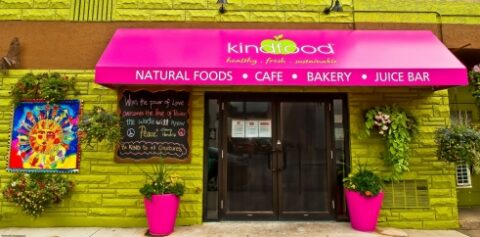 Kindfood Cafe front shot