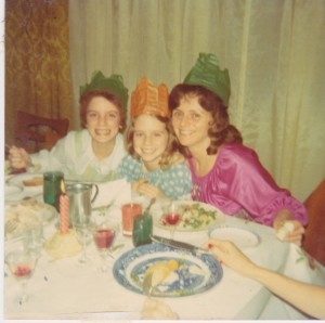 Shannon, Colleen and Kelly Childs together in 1972