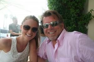 Erinn Weatherbie with Ken Childs