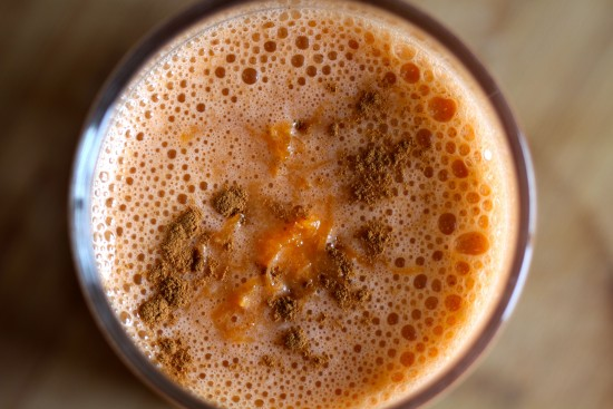 Kelly Childs' Bunny Smoothie Carrot Cake Smoothie