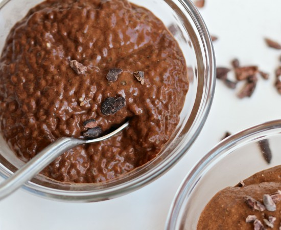 Kelly Childs' Raw Chocolate Chia Pudding