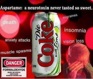 Diet coke is poisonous