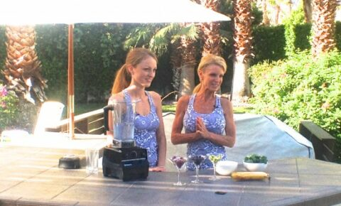 Erinn Weatherbie and Kelly Childs in Palm Springs