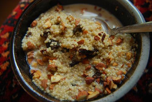 Kelly Childs' Quinoa Porridge