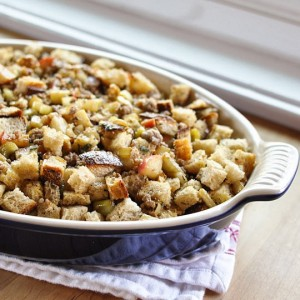 Kelly Childs' Vegan and gluten-free stuffing