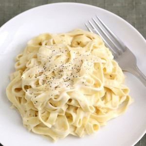 Kelly Childs' Fettuccine Alfredo