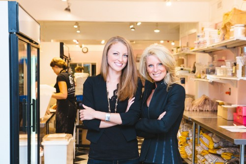 Erinn Weatherbie and Kelly Childs in Kelly's Bake Shoppe
