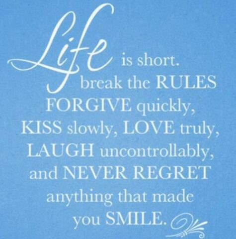 never regret | www.kellychilds.com