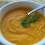 Carrot Orange Coconut Curry Soup