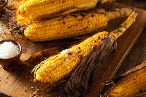 BBQ corn on the cob by Kelly Childs