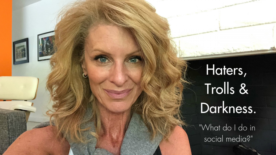 Haters trolls and darkness | How to combat darkness on social media
