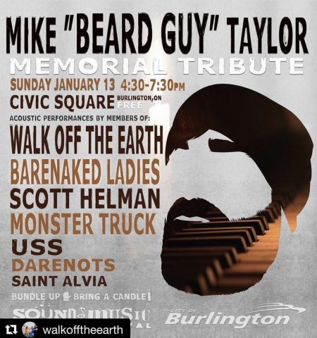 Mike Taylor Tribute Concert